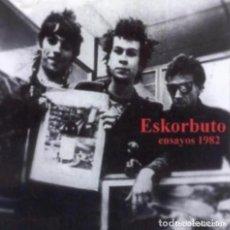 Discos de vinilo: CD ESKORBUTO ENSAYOS INÉDITOS LOKAL DE ENSAYO REPELEGA 1982 JOYA PUNK. Lote 218706582