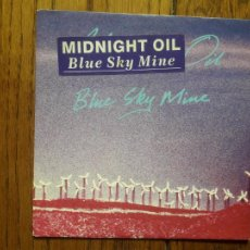 Discos de vinilo: MIDNIGHT OIL - BLUE SKY MINE + WEDDING CAKE. Lote 218708917