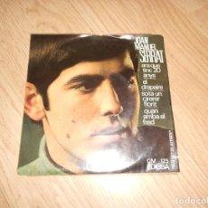 Discos de vinil: JOAN MANUEL SERRAT CANTA LES SEVES CANÇONS - ARA QUE TINC 20 ANYS - EDIGSA 1966. Lote 218711611