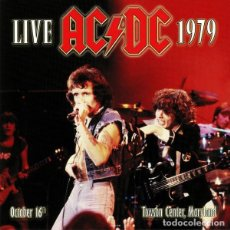 Discos de vinilo: AC/DC ?– LIVE 1979: TOWSON CENTER MARYLAND -2 LP-. Lote 218712523