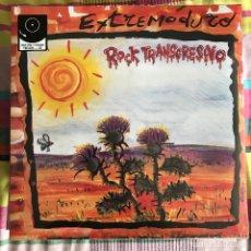 Discos de vinilo: EXTREMODURO - ROCK TRANSGRESIVO (1994) - LP + CD DRO REEDICIÓN 2014 NUEVO. Lote 218720975