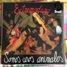 Discos de vinilo: EXTREMODURO - SOMOS UNOS ANIMALES (1991) - LP + CD DRO REEDICIÓN NUEVO. Lote 218721326