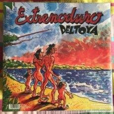 Discos de vinilo: EXTREMODURO - DELTOYA (1992) - LP + CD DRO REEDICIÓN 2014 NUEVO. Lote 218722123