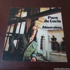 Discos de vinilo: PACO DE LUCIA - ALMORAIMA 1977 EDICION INGLESA - ISLAND. Lote 218725116