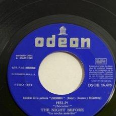Discos de vinilo: THE BEATLES ODEON. Lote 218727748
