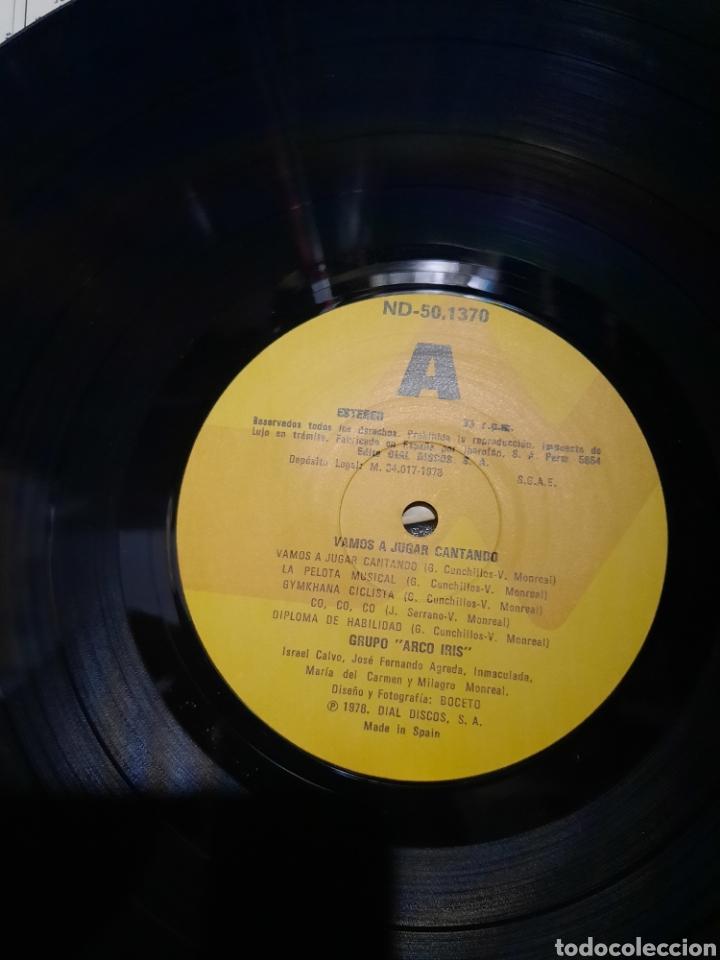 Discos de vinilo: Vamos a jugar Cantando. Arco iris - Foto 2 - 218729211