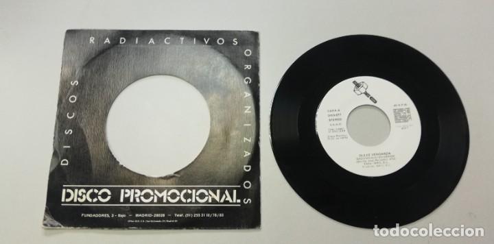 Discos de vinilo: 0920- DULCE VENGANZA SADOMASODISCOSHOW PROMO - VIN 7 SINGLE P G DIS VG+ - Foto 2 - 218731375
