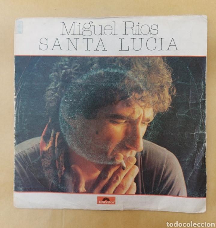 SINGLE MIGUEL RÍOS - SANTA LUCÍA/EL LABERINTO (Música - Discos - Singles Vinilo - Solistas Españoles de los 70 a la actualidad)