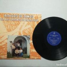 Discos de vinilo: AMIGOS DE GINES - POR LOS CAMINOS DE ANDALUCIA. Lote 218731553