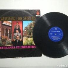 Discos de vinilo: AMIGOS DE GINES - SEVILLANAS DE PRIMAVERA. Lote 218731841