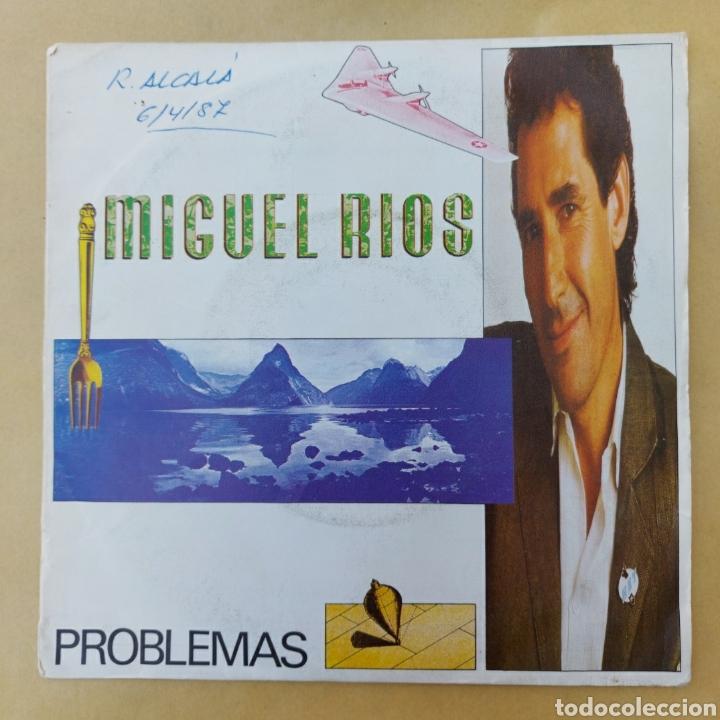 SINGLE MIGUEL RÍOS- PROBLEMAS (Música - Discos - Singles Vinilo - Solistas Españoles de los 70 a la actualidad)