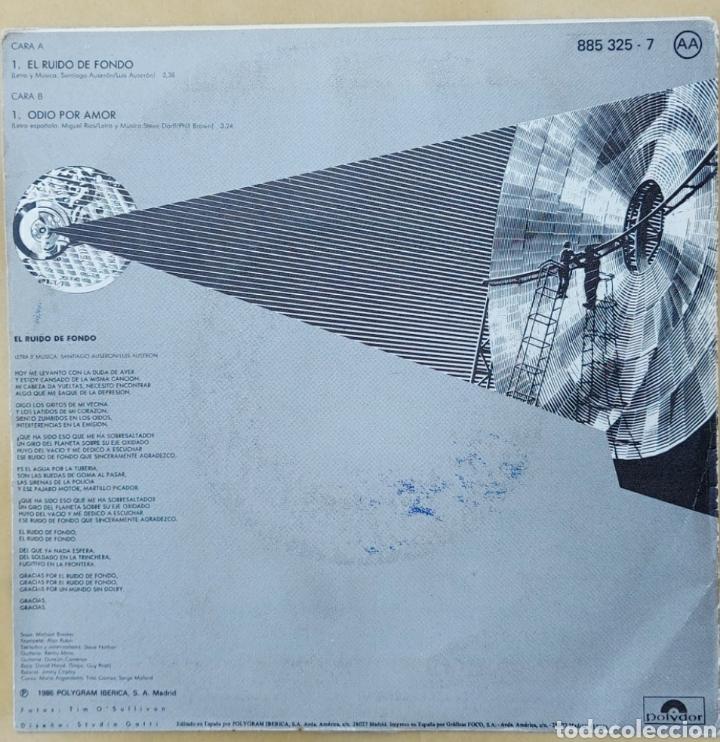 Discos de vinilo: Single Miguel Ríos- el ruido de fondo - Foto 2 - 218732213