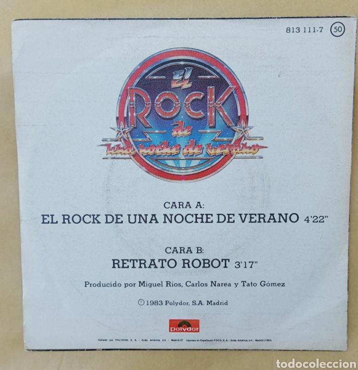 Discos de vinilo: Single Miguel Ríos- El Rock de una noche de verano - Foto 2 - 218732688
