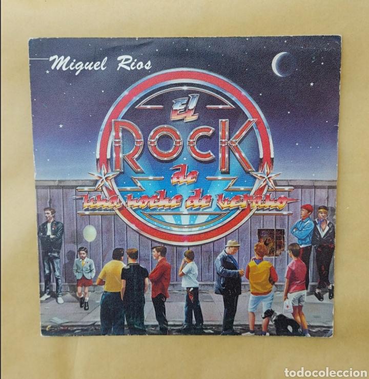 SINGLE MIGUEL RÍOS- EL ROCK DE UNA NOCHE DE VERANO (Música - Discos - Singles Vinilo - Solistas Españoles de los 70 a la actualidad)