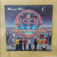 Discos de vinilo: SINGLE MIGUEL RÍOS- EL ROCK DE UNA NOCHE DE VERANO. Lote 218732688