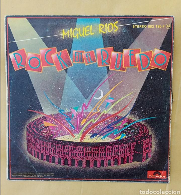 SINGLE MIGUEL RÍOS - ROCK EN EL RUEDO (Música - Discos - Singles Vinilo - Solistas Españoles de los 70 a la actualidad)