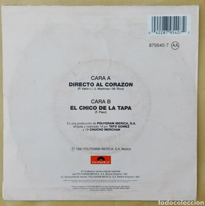 Discos de vinilo: Single Miguel Ríos- Directo al corazón ? - Foto 2 - 218733393