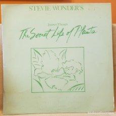 Discos de vinilo: STEVIE WONDER´S - THE SECRET LIFE OF PLANTS - CARPETA ABIERTA 2 LP´S. Lote 218733566