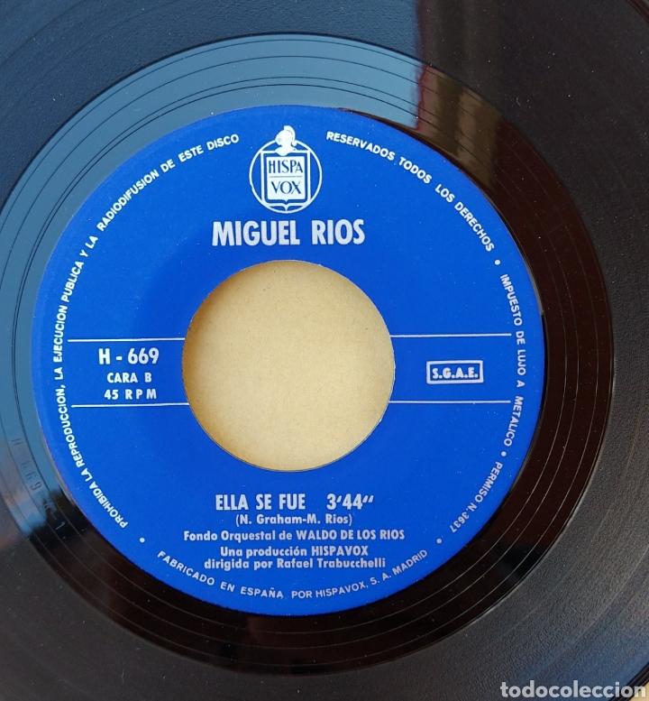 Discos de vinilo: Single Miguel Ríos- Como el viento - Foto 3 - 218733622