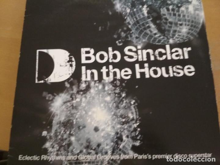 BOB SINCLAR IN THE HOUSE (PART TWO) 2X DOLCE PULGADAS (Música - Discos - LP Vinilo - Techno, Trance y House)