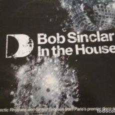 Discos de vinilo: BOB SINCLAR IN THE HOUSE (PART TWO) 2X DOLCE PULGADAS. Lote 218733702