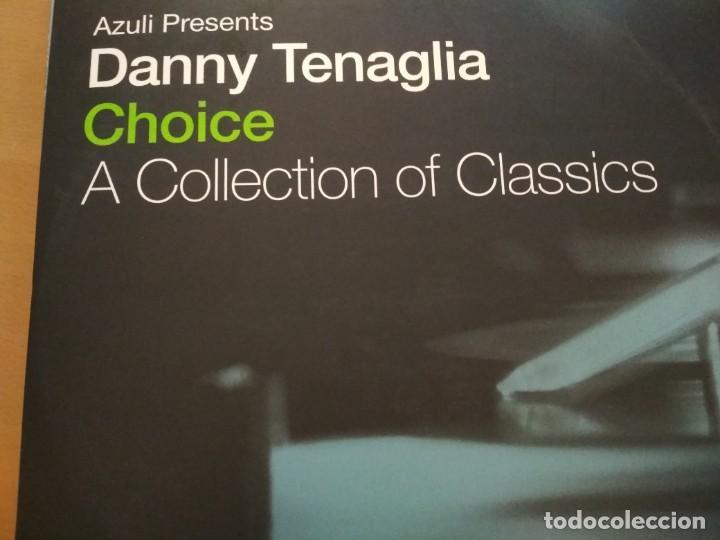 DANNY TENAGLIA CHOICE (A COLLECTION OF CLASSICS) 4XLPS (Música - Discos - LP Vinilo - Techno, Trance y House)