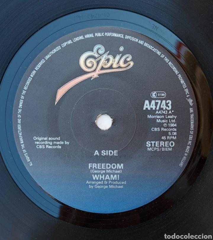 Discos de vinilo: Single Wham- Freedom - Foto 3 - 218733956