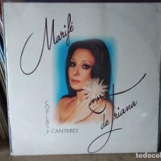 Discos de vinilo: MARIFÉ DE TRIANA. COPLAS Y CANTARES. 2 LP´S. COLUMBIA 1993.. Lote 218734168