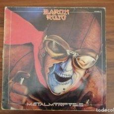 Discos de vinilo: BARÓN ROJO - METALMORFOSIS (LP, ALBUM) 1983. SELLO: CHAPA DISCOS. BUEN ESTADO. Lote 218734250