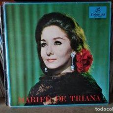 Discos de vinilo: MARIFE DE TRIANA- LP COLUMBIA DE 1967. Lote 218734280