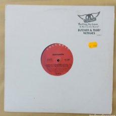 Discos de vinilo: MAXI SINGLE AEROSMITH - FALLING IN LOVE. Lote 218734402