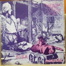Discos de vinilo: SISA - POSTAL MIRALDA 1982 CARPETA ABIERTA POSTLS INSERT. Lote 218734607