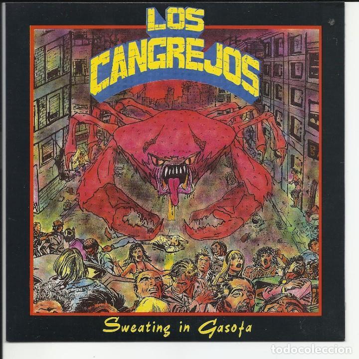LOS CANGREJOS EP RABIA FABRICA MAGNETIA 1990 SWEATIN IN GASOFA SICK OF YOU+3 PUNK ROCK (Música - Discos - Singles Vinilo - Grupos Españoles de los 70 y 80)