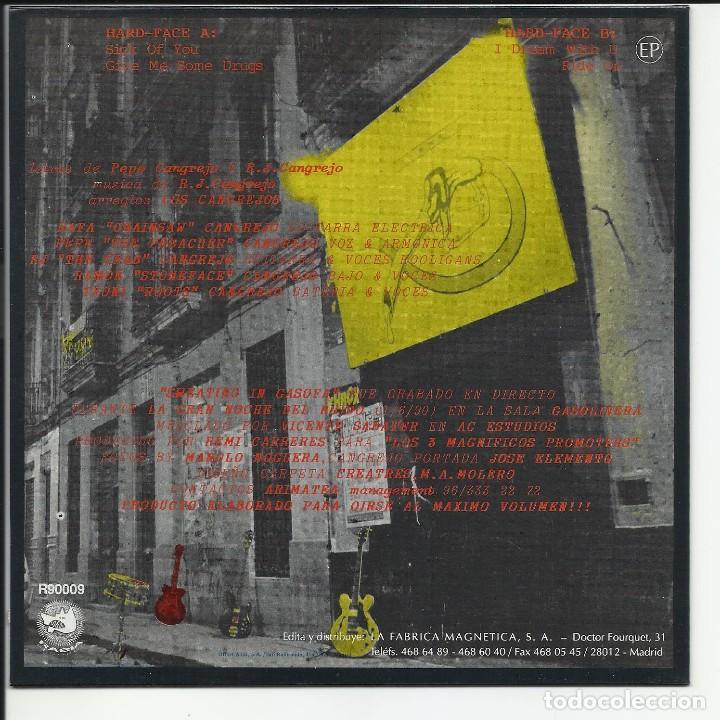 Discos de vinilo: LOS CANGREJOS EP RABIA FABRICA MAGNETIA 1990 SWEATIN IN GASOFA SICK OF YOU+3 PUNK ROCK - Foto 2 - 218735291