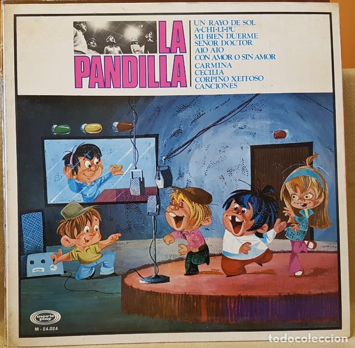 LA PANDILLA - CARPETA ABIERTA (Música - Discos - LPs Vinilo - Música Infantil)