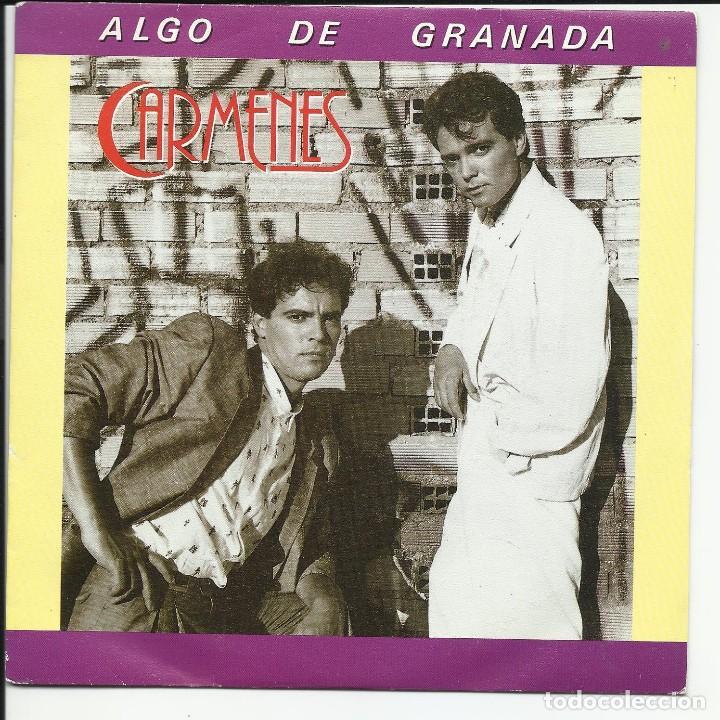 CARMENES - ALGO DE GRANADA SG BAT DISCOS 1986 (Música - Discos - Singles Vinilo - Grupos Españoles de los 70 y 80)