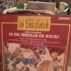 Discos de vinilo: LA DEL MANOJO DE ROSAS. HISPAVOX 1981. Lote 218736977