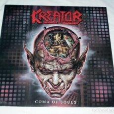 Discos de vinilo: LP KREATOR - COMA OF SOULS. Lote 218738840