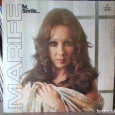Discos de vinilo: MARIFÉ DE TRIANA - AY, SEVILLA - EDICIÓN DE 1976. Lote 218741330