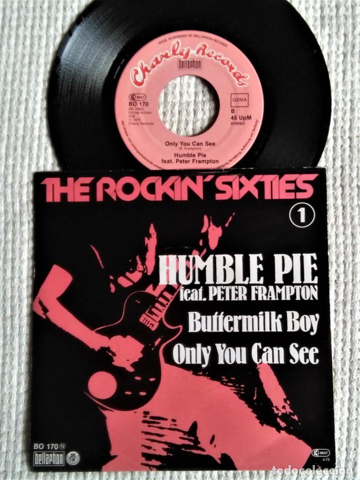 """HUMBLE PIE FEAT. PETER FRAMPTON - """" BUTTERMILK BOY + 1 """" SINGLE 7"""" GERMANY 1975 (Música - Discos - Singles Vinilo - Pop - Rock - Internacional de los 70)"""