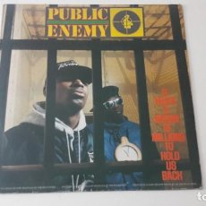 Discos de vinilo: PUBLIC ENEMY IT TAKES A NATION OF MILLIONS TO HOLD US BACK ED. ESPAÑOLA 1988. Lote 218749218