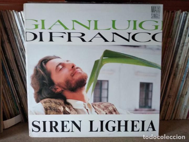 GIANLUIGI DI FRANCO - SIREN LIGHEIA (MAXI) (Música - Discos de Vinilo - Maxi Singles - Canción Francesa e Italiana)