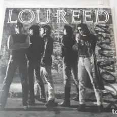 Discos de vinilo: LOU REED NEW YORK ED. UK & EUROPE ORIGINAL 1989. Lote 218749715