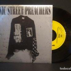 Discos de vinilo: MANIC STREET PRECHAERS YOU LOVE US SINGLE SPAIN 1992 PDELUXE. Lote 218750083