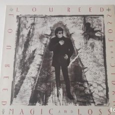 Discos de vinilo: LOU REED MAGIC & LOSS ED. UK & EUROPE 1992. Lote 218750105