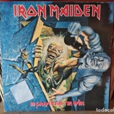 Discos de vinilo: IRON MAIDEN - NO PRAYER FOR THE DYING. Lote 218750661