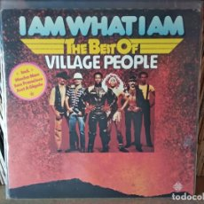 Discos de vinilo: VILLAGE PEOPLE - I AM WHAT I AM - THE BEST OF VILLAGE PEOPLE - MADE IN GERMANY - VILLAGE PEOPLE. Lote 218751162