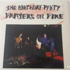 Discos de vinilo: THE BIRTHDAY PARTY PRAYERS ON FIRE DICION UK ORIGINAL 1981. Lote 218751198