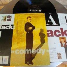 Discos de vinilo: BLACK-LP COMEDY-ENCARTE LETRAS-BUEN ESTADO. Lote 218751998