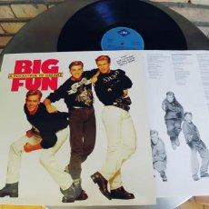 Discos de vinilo: BIG FUN-LP A POCKETFUL OF DREAMS-ENCARTE LETRAS-NUEVO. Lote 218752021